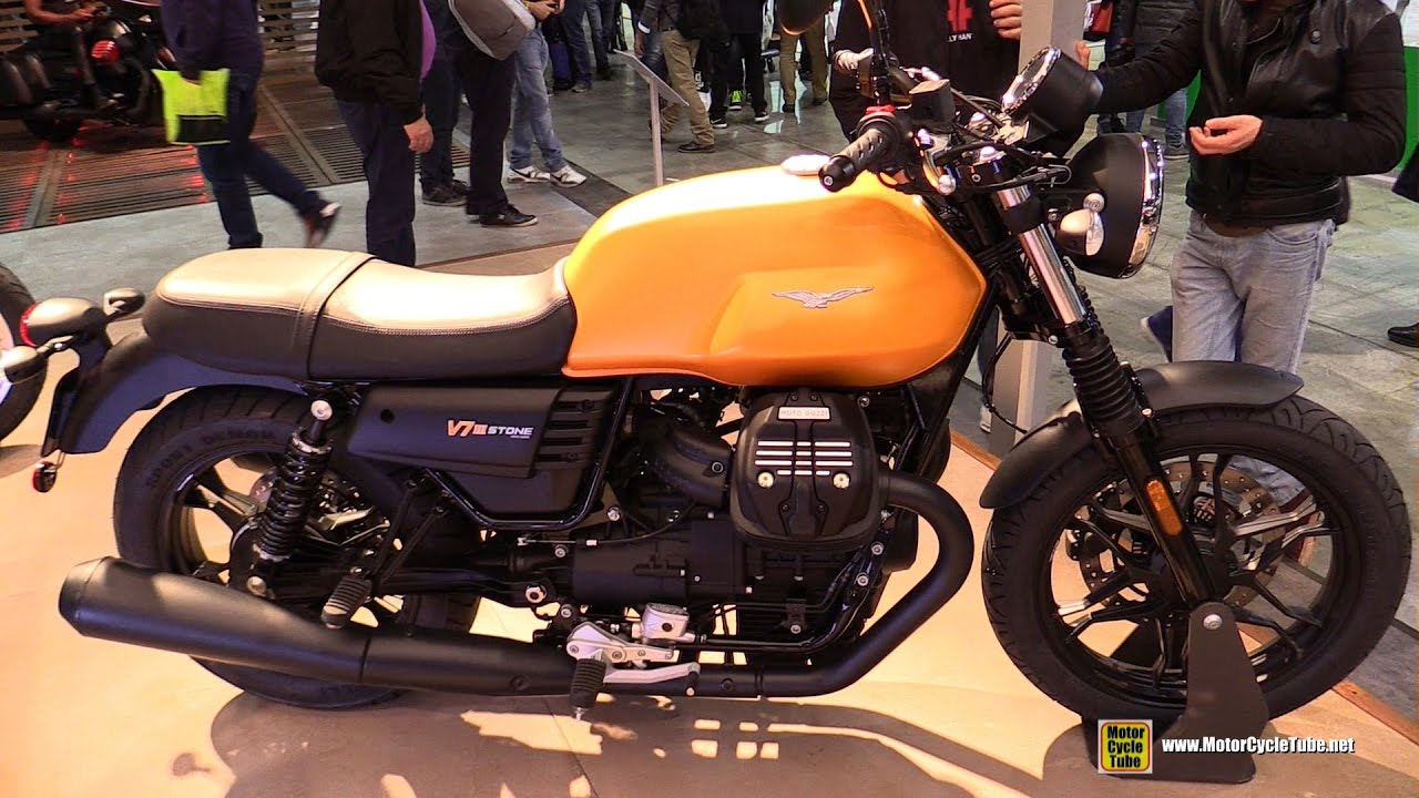 2017 moto guzzi v7 iii stone walkaround debut at 2016 eicma milan youtube. Black Bedroom Furniture Sets. Home Design Ideas