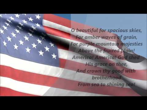 America The Beautiful Lyrics