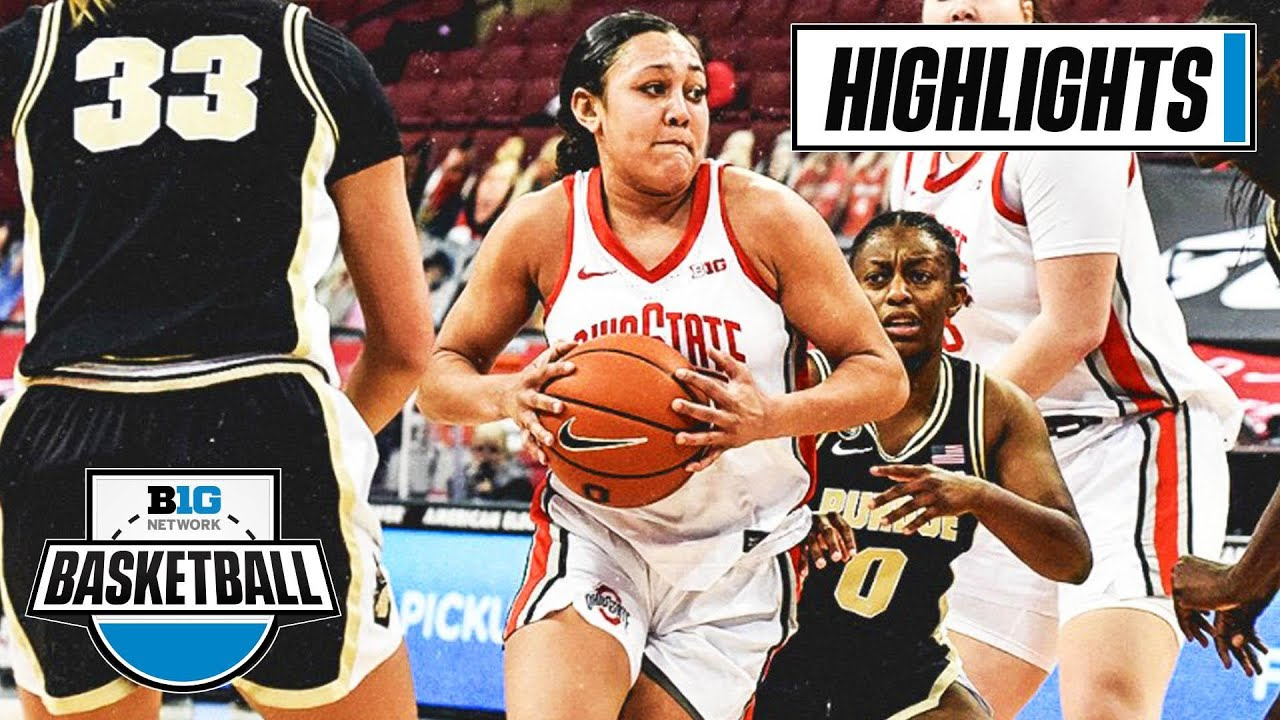 Women's Basketball: Ohio State 100, Purdue 85