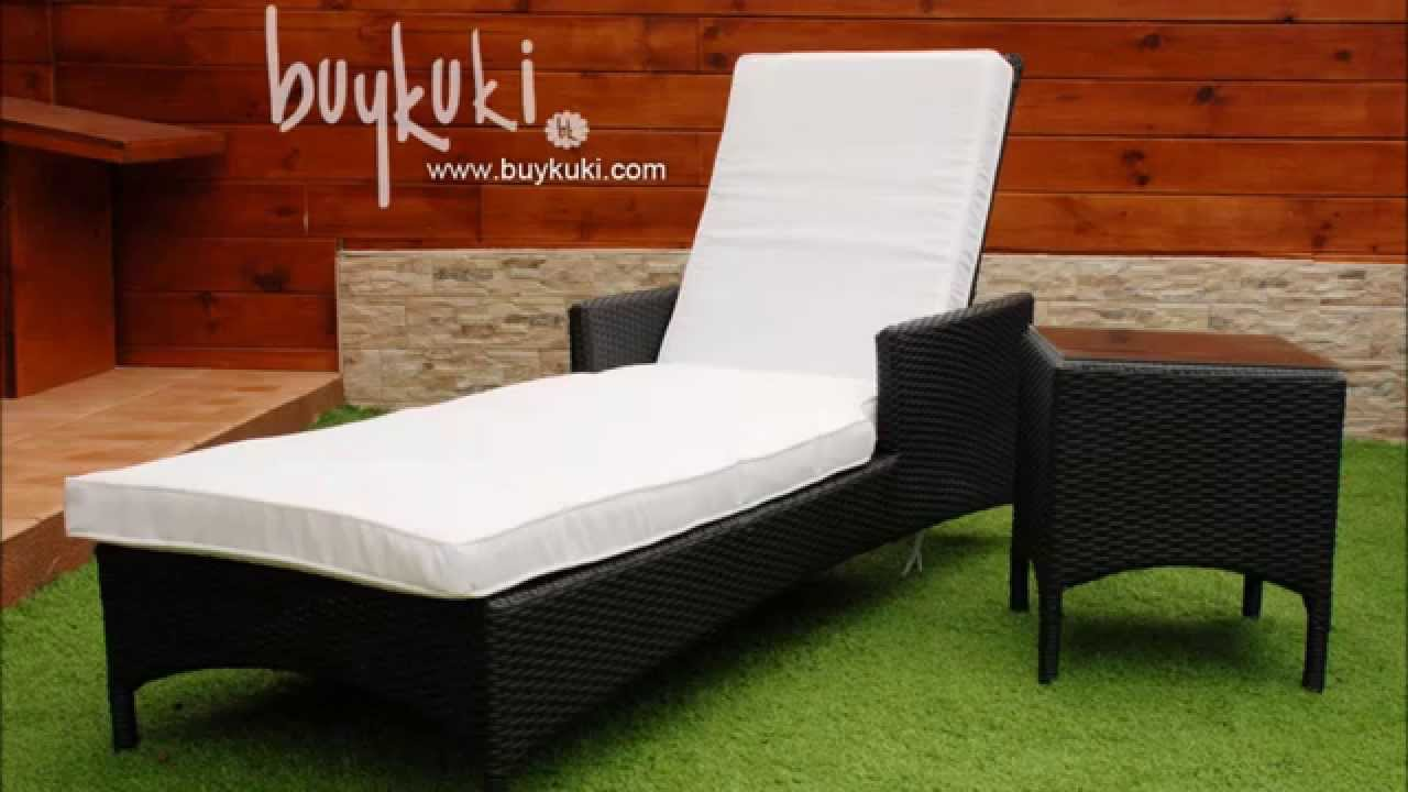 Muebles de rattan natural buykuki youtube - Muebles exterior rattan ...