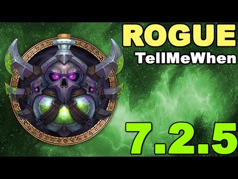 Rogue TMW Profile for Patch 7.2.5 w/Download