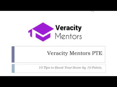 Veracity PTE 79+ Advanced Class: 10 Useful Tips to Boost your Score.