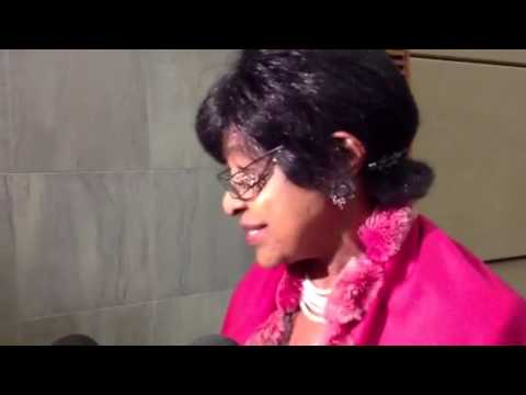 Winnie Madikizela-Mandela interview on #MandelaBanknotes