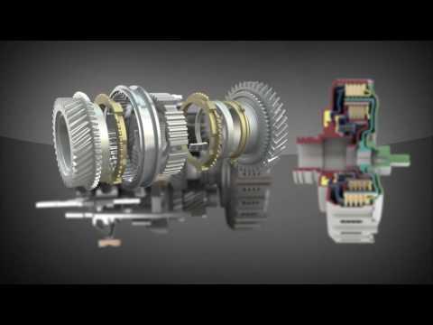 Dual Clutch Transmission Animation