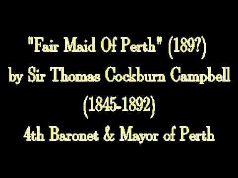 Fair Maid Of Perth 1890 by Sir Thomas Cockburn Campbell 1845-1892