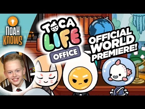 Toca Life: Office | NEW APP by Toca Boca | Gameplay | Official World Premiere Launch!