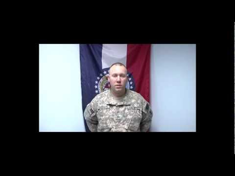 Pfc. Steve Randolph holiday greeting