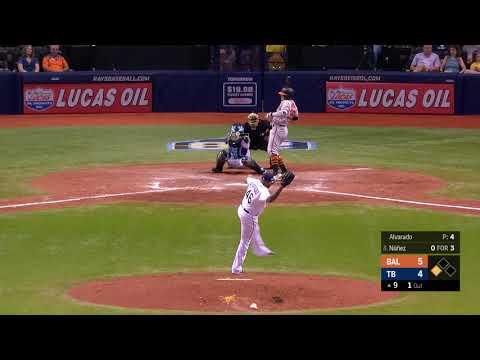José Alvarado's fastball