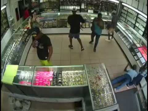Dangerous Robberies in South Africa   Gold Shop
