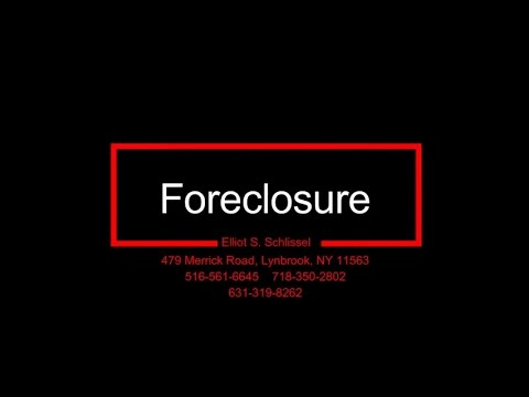 Reverse Mortgage Foreclosures