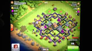 Clash of Clans: Giant Healer Combo
