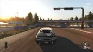 Next Car Game: Wreckfest - Race Tarmac Reverse Gameplay (PC HD) [1080p]