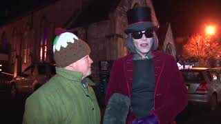 Interview with Willy Wonka from the Chocolate Factory at Candlelit Dartmouth U.K,