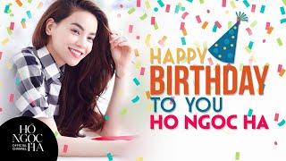 HAPPY BIRTHDAY TO HO NGOC HA