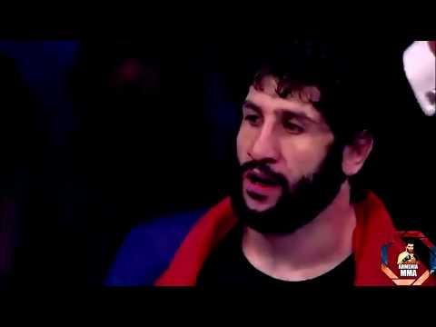 Лучший в ММА . Армянин наводит ужас в ММА.