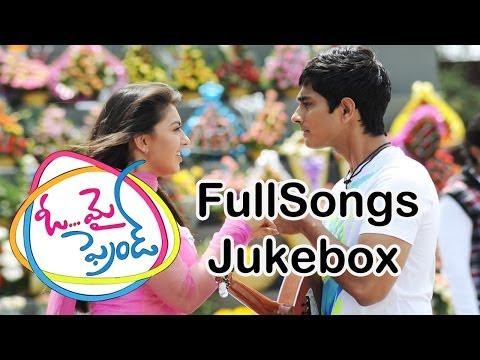Oh My Friend Movie Full Songs    jukebox     Siddharth,Shruthi Hasan, Hansika