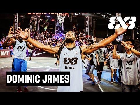 "Dominic ""Mighty Mouse"" James - Mixtape Monday - FIBA 3x3"