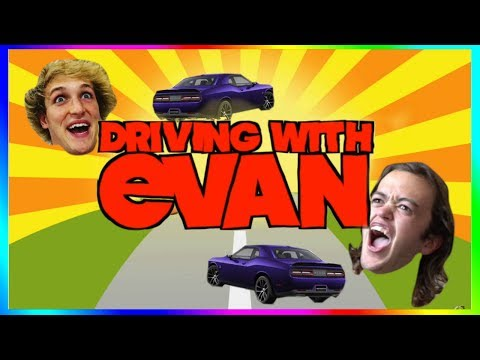 Every Driving With Evan in Logan Paul Vlogs! Compilation