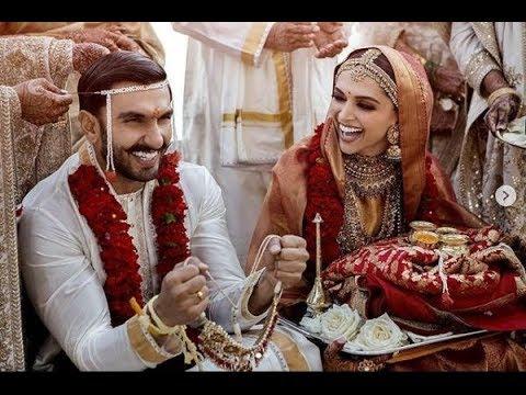 Deepika Padukone And Ranveer Singh Wedding Video Ranveer Deepika Marriage In Italy Youtube