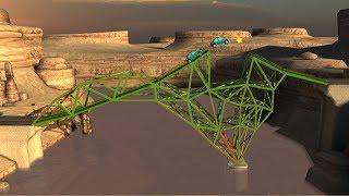 Bridge Constructor Gameplay Walkthrough [tutorial Guide]