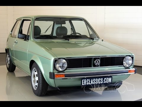 Volkswagen Golf S 1980 type 1 fully restored in showcondition -VIDEO- www.ERclassics.com - YouTube