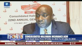 Consolidated Hallmark Insurance Declares 2 Kobo Dividend Per Ordinary Share