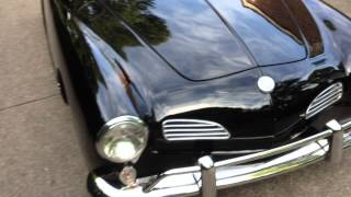VW Karmann Ghia test drive