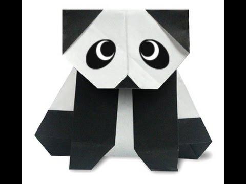 How To Make Origami Panda