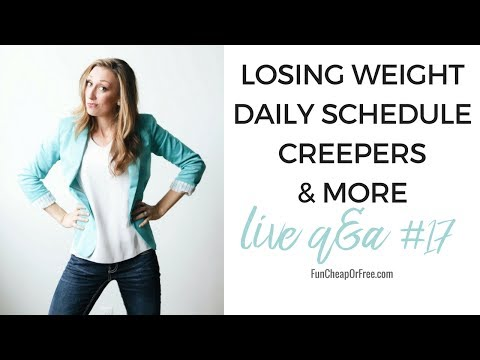 Q&A #17 Losing weight, daily schedule, creepers & more!