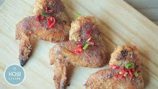 利用手邊的烤箱,用熱烤取代油炸,一樣能把雞翅的美味發揮得淋漓盡致! ...
