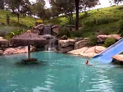 Piscina com cascata do hotel fazenda tucano a melhor - Piscina a cascata ...