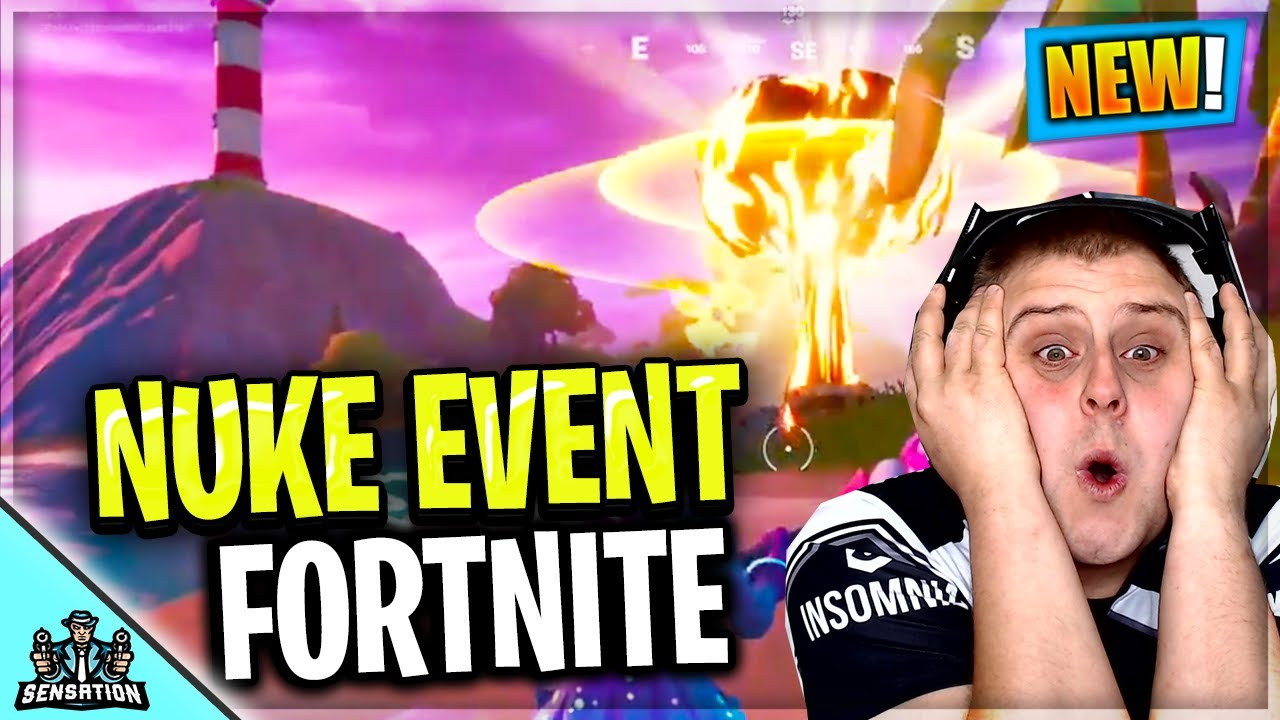 NUKE EVENT IN FORTNITE IS COMING
