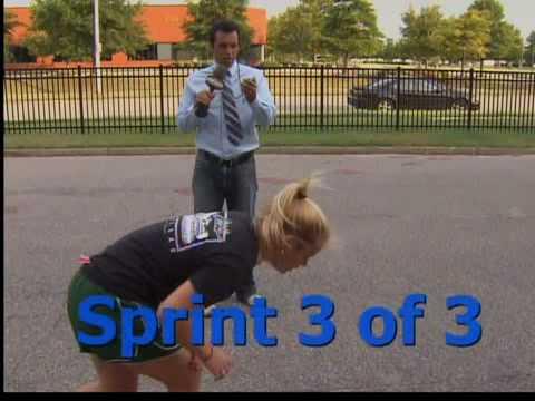 Sports intern beats Albert Haynesworth at running