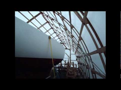Hurricane Irene And The Stimson Bow Roof Shed Youtube