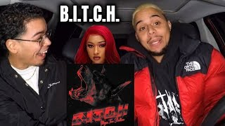 Megan Thee Stallion - B.I.T.C.H. (Official Audio) REACTION REVIEW