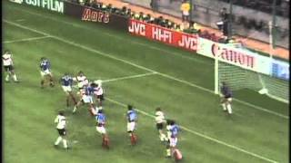 WM 90 Germany v Yugoslavia 10th JUN 1990 ZDF