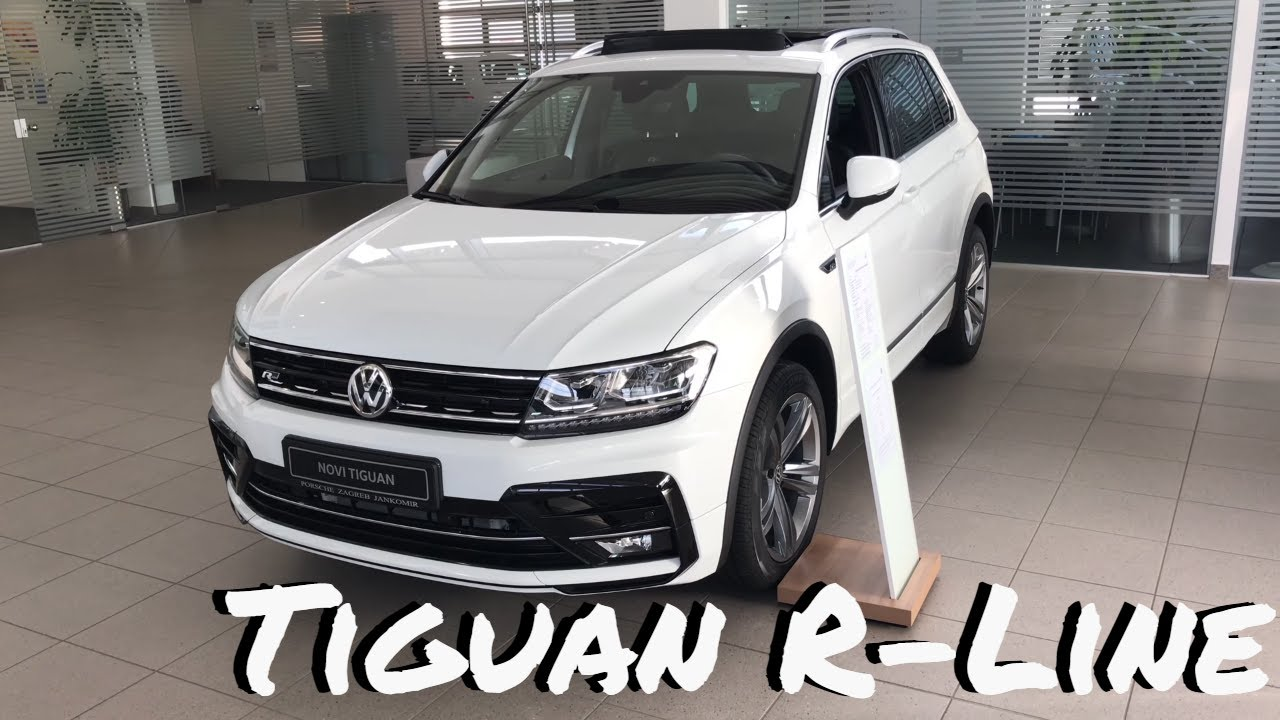 volkswagen tiguan r line 2018 review walkaround in 4k. Black Bedroom Furniture Sets. Home Design Ideas