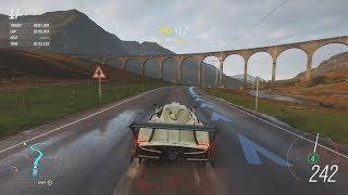 "Forza Horizon 4 - ""The Goliath"" (Lap around whole map) with Pagani Zonda R"