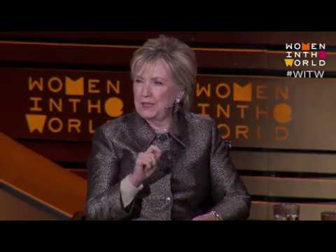 "Hillary Clinton: ""Take criticism seriously but not personally."""