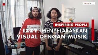 MENJAJAL VISUAL: Izzy Di Balik Warna-warni Visual Panggung