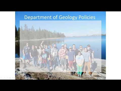 Field Camp Procedures - AGU/AGI Heads and Chairs Webinar