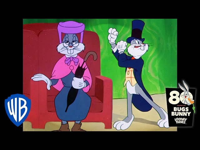 Looney Tunes | Bugs' Chase in the Theatre | Classic Cartoon | WB Kids