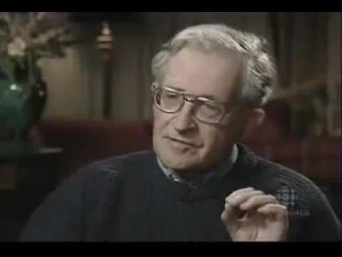 Is the United States of America a leading terrorist state Noam Chomsky interview
