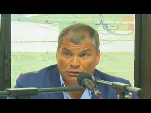 Rafael Correa con Radio Estrella 92.1 FM Guayaquil