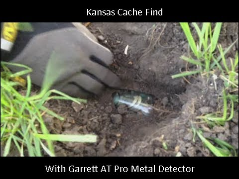 Kansas Cache Find Metal Detecting