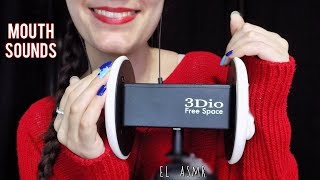 ASMR MOUTH SOUNDS! TONGUE CLICKING,SKSK,KOKO,TRUTRU *3Dio*