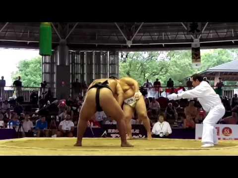 MGL Byamba vs JPN Sumo World Championships 2015