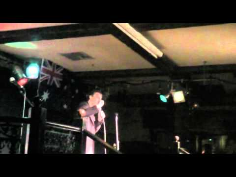 Robert at The Elephant and Wheelbarrow Chuckles comedy night.mp4
