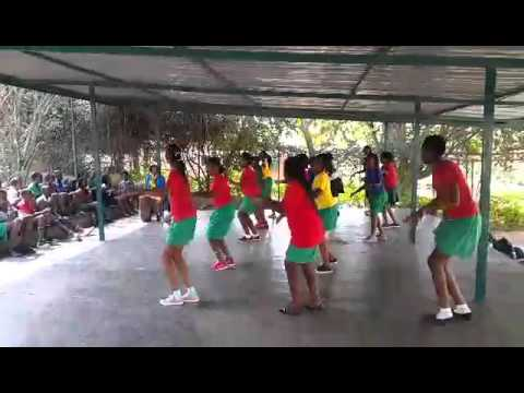 School dance girls Rwanda