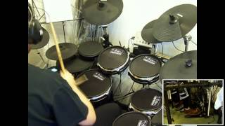 Yes - Five Per Cent For Nothing (Drum Cover - Franki Bio)